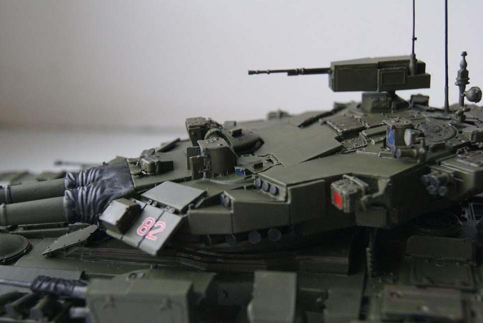 """Танк Т-145 типа """"Молот"""", масштаб 1\35, конверсия-самоделка 18377999"""