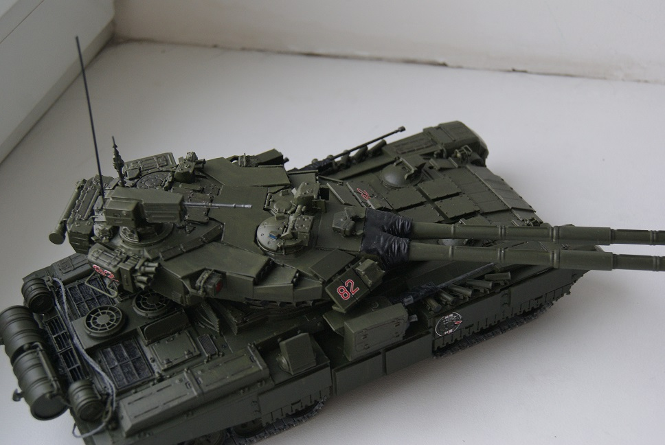 """Танк Т-145 типа """"Молот"""", масштаб 1\35, конверсия-самоделка 18377996"""