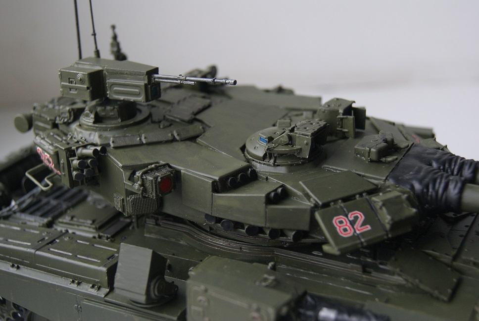 """Танк Т-145 типа """"Молот"""", масштаб 1\35, конверсия-самоделка 18378002"""