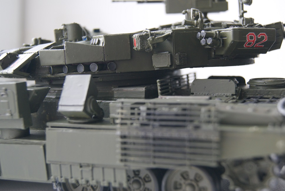 """Танк Т-145 типа """"Молот"""", масштаб 1\35, конверсия-самоделка 18377998"""