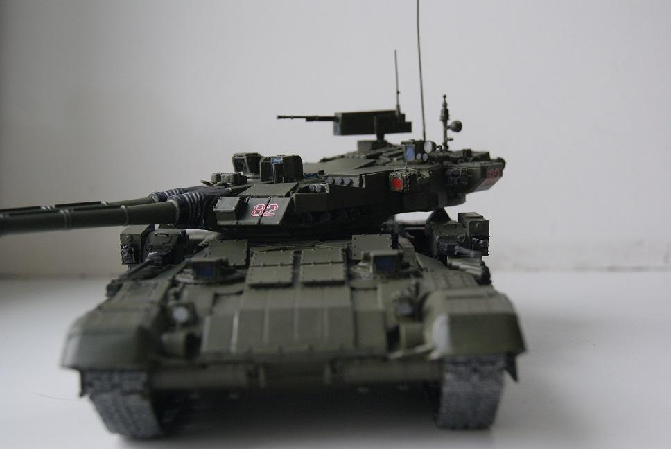 """Танк Т-145 типа """"Молот"""", масштаб 1\35, конверсия-самоделка 18378004"""