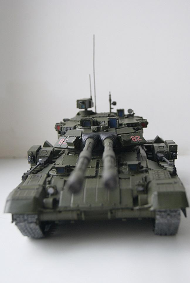 """Танк Т-145 типа """"Молот"""", масштаб 1\35, конверсия-самоделка 18378011"""