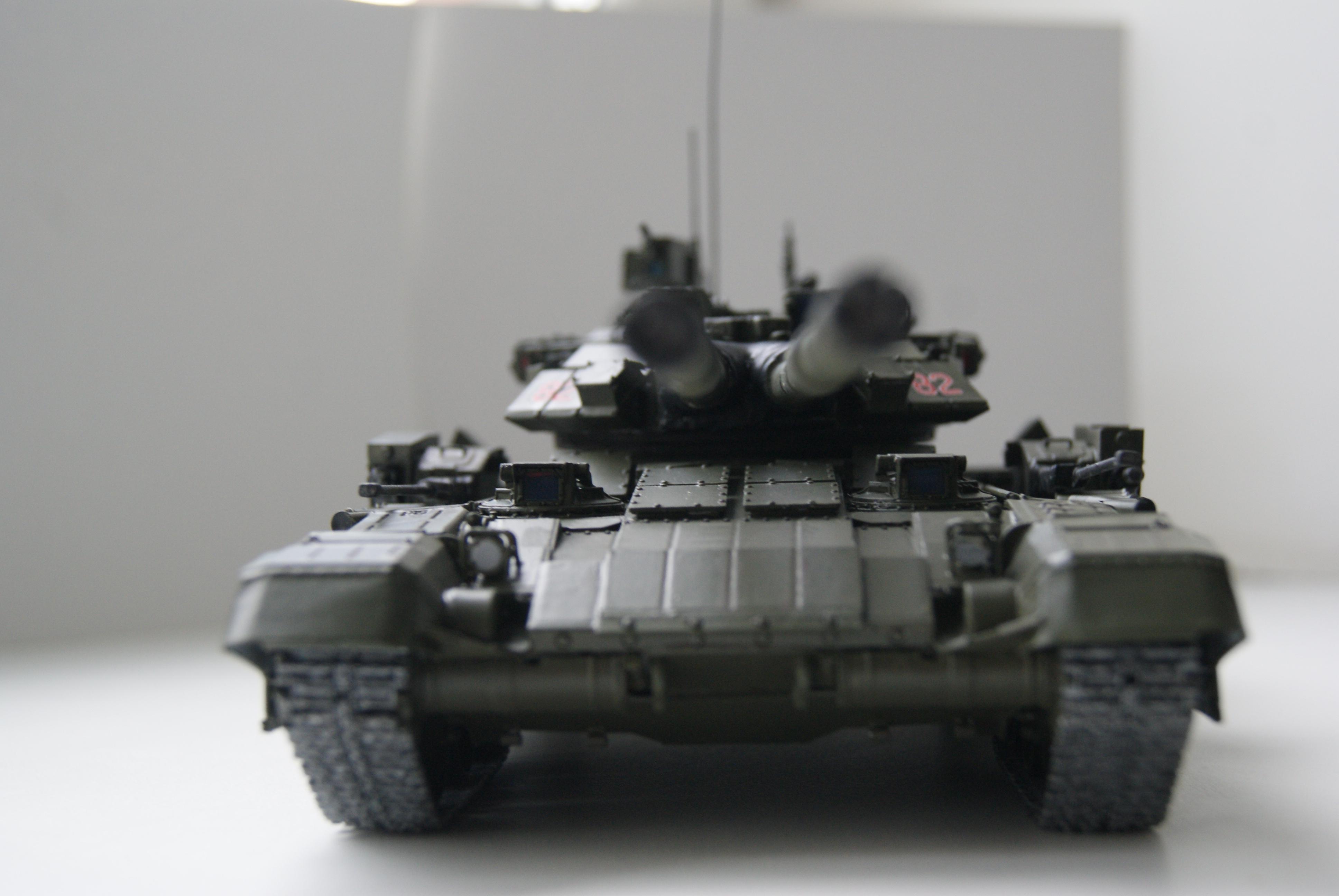 """Танк Т-145 типа """"Молот"""", масштаб 1\35, конверсия-самоделка 18378111"""