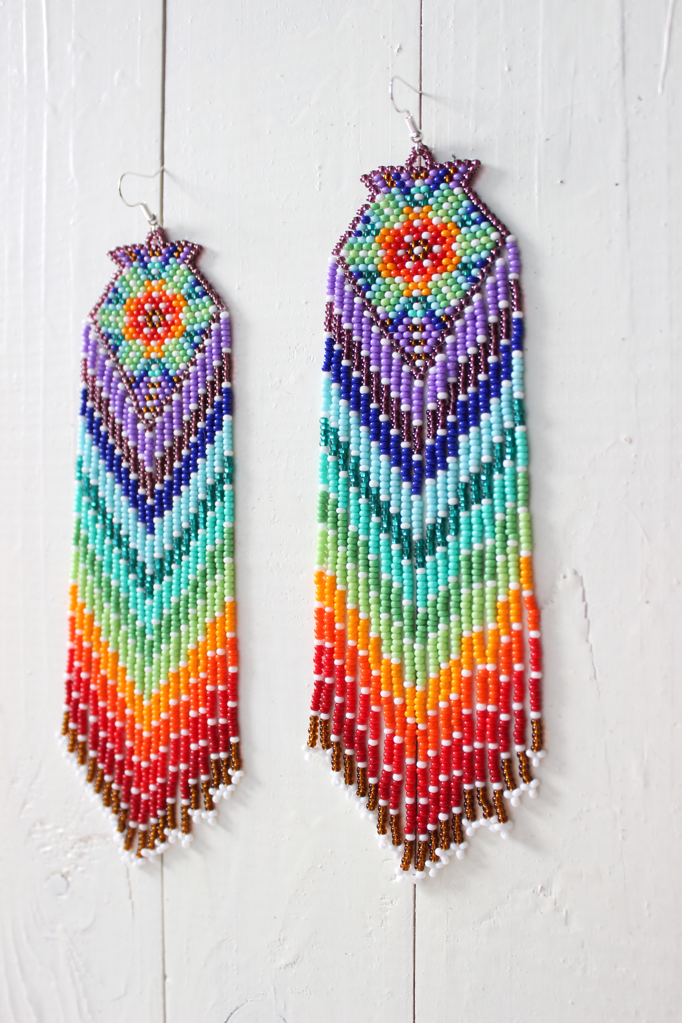 I Ship Within 10 Days After Clear Payment As Make Earrings Personally For Each Customer Native American