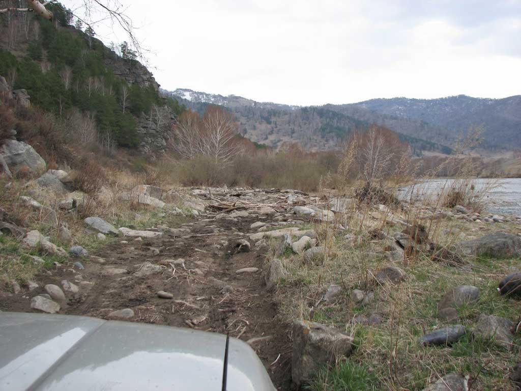 дорога к Турбазе Загриха