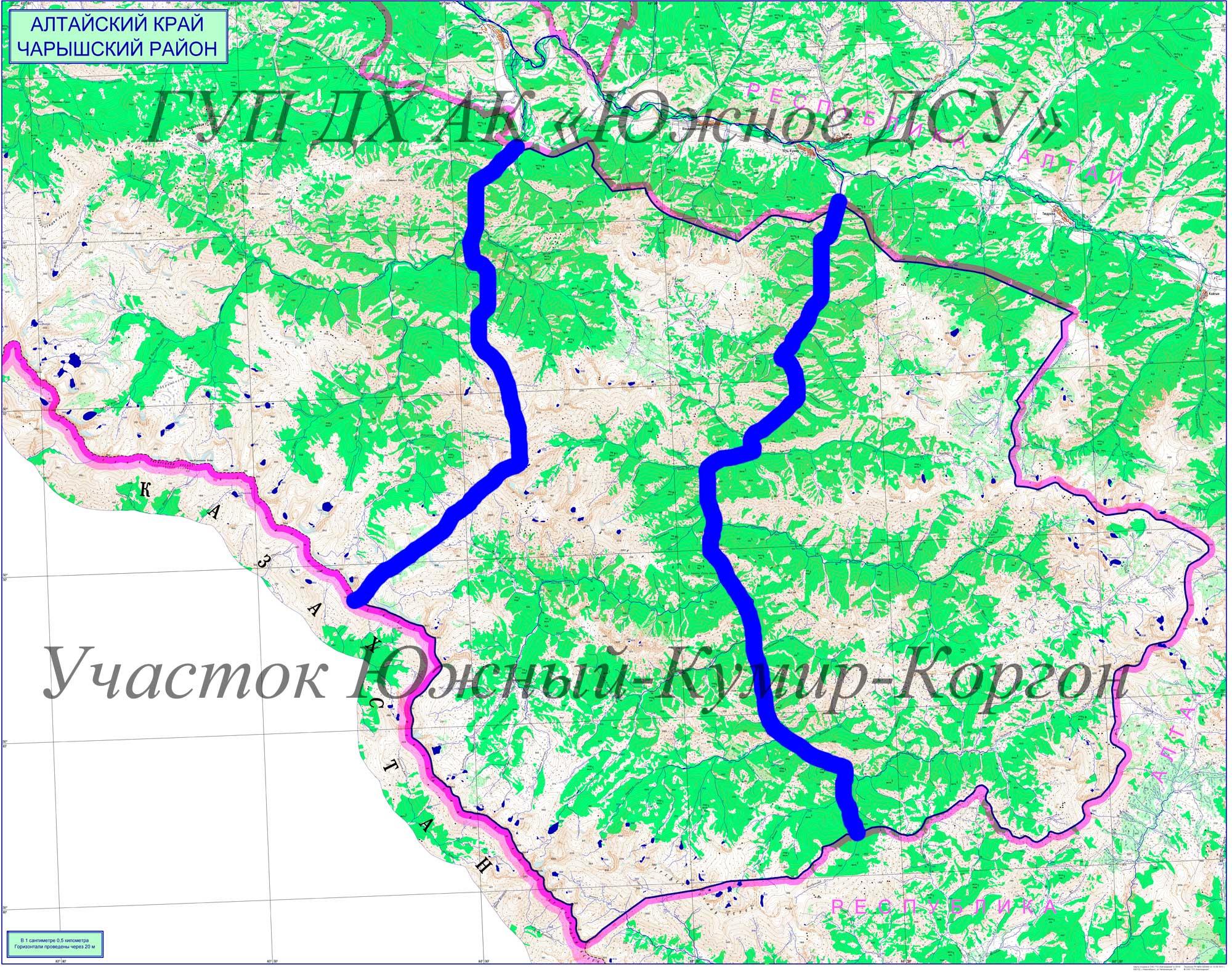 Участок Южный-Кумир-Коргон