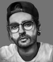tom kaulitz portrait by mynameisphantomrider-dc2gpm7