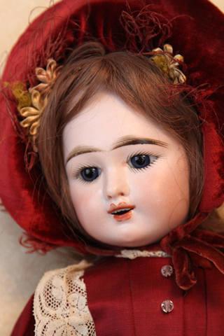 Антикварная французская кукла Eden Bebe