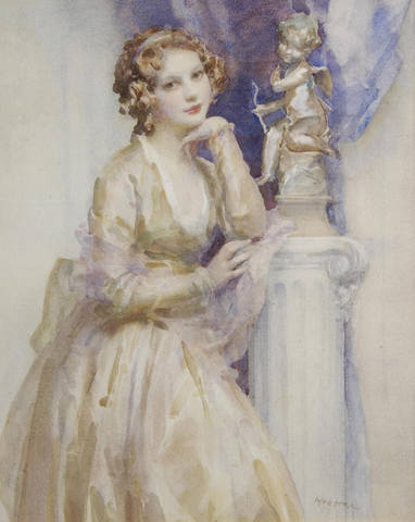 Walter Ernest Webster Portrait of a young lady