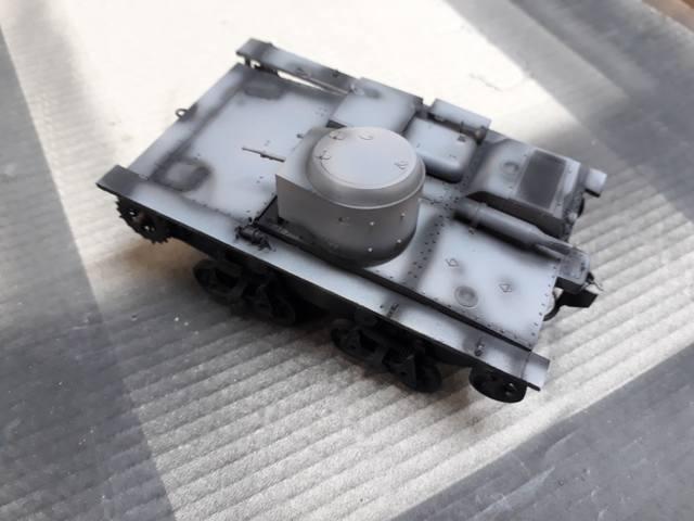 Плавающий танк Т-38 ГОТОВО - Страница 4 21244954_m