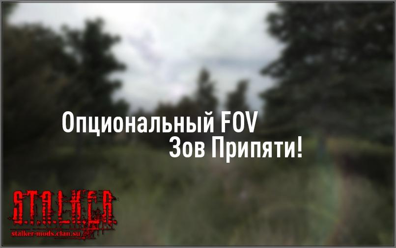 Опциональный FOV для Зова Припяти