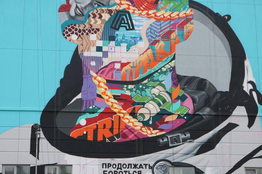 Как рождается граффити