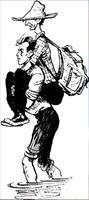 Рисунок С. Забалуева к повести С. Голицына За берёзовыми книгами (26)