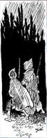 Рисунок С. Забалуева к повести С. Голицына За берёзовыми книгами (33)