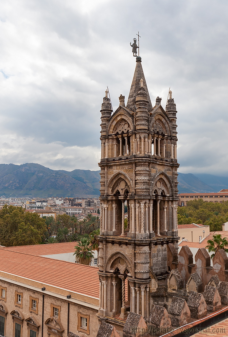 Cattedrale di Palermo Кафедральный собор Сицилия Палермо Sicily Palermo Италия Italy