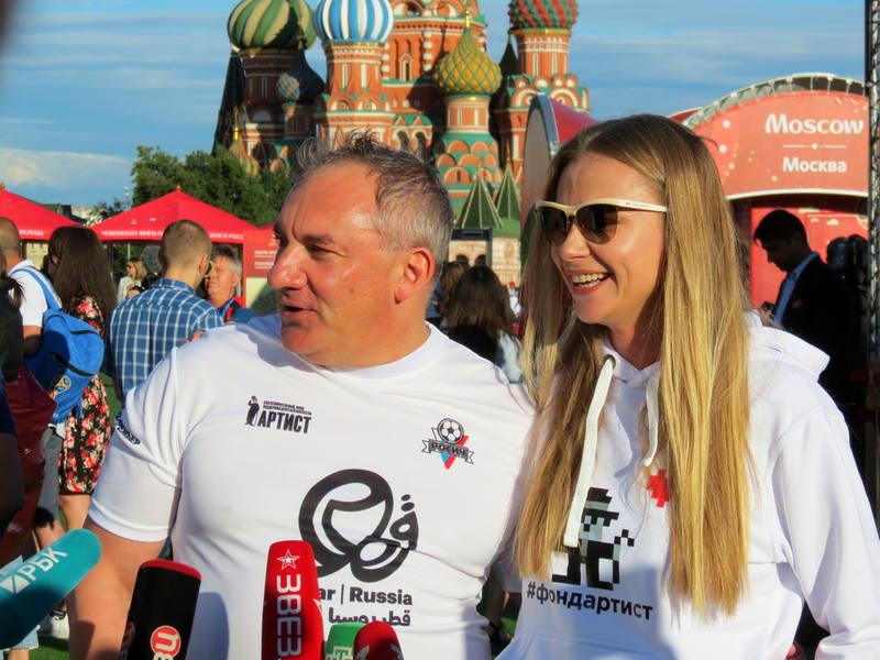 МАТЧ-Премьер на Красной площади,Russiaqatar2018