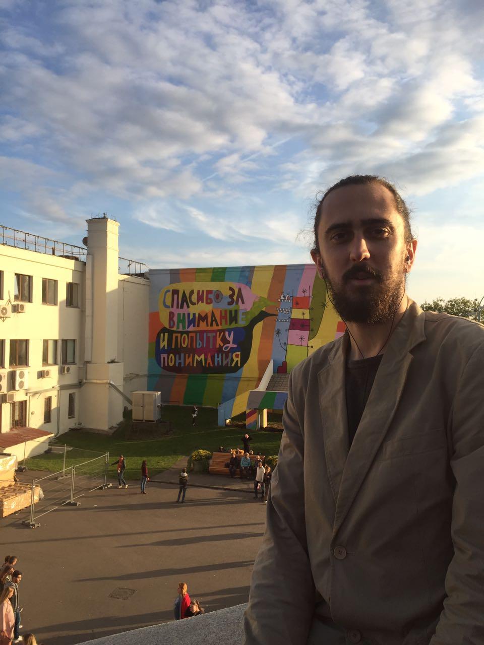 Андрей Беротрон - участник кастинга в 19 сезон