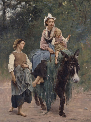 François-Alfred-Delobbe-Italian-Peasant-Family-Indianapolis-Museum-of-Art