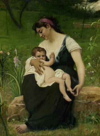 François-Alfred-Delobbe-The-Motherhood