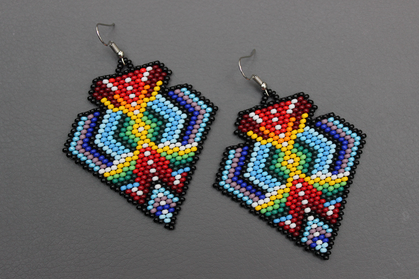 Native American Beaded Earrings Patterns Free Awesome Inspiration Ideas