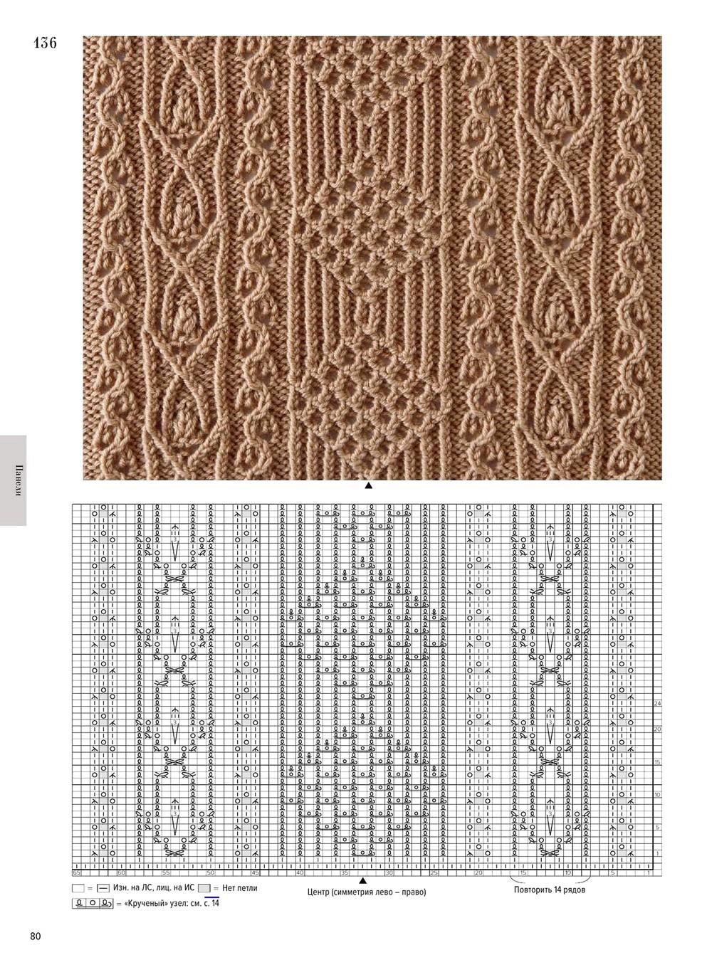 Журналы схем вязания спицами