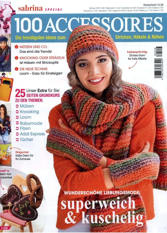 Журнал по вязанию Sabrina Special S 2556 — 100 Accessoires 2018
