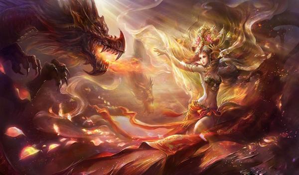 Фея и Дракон