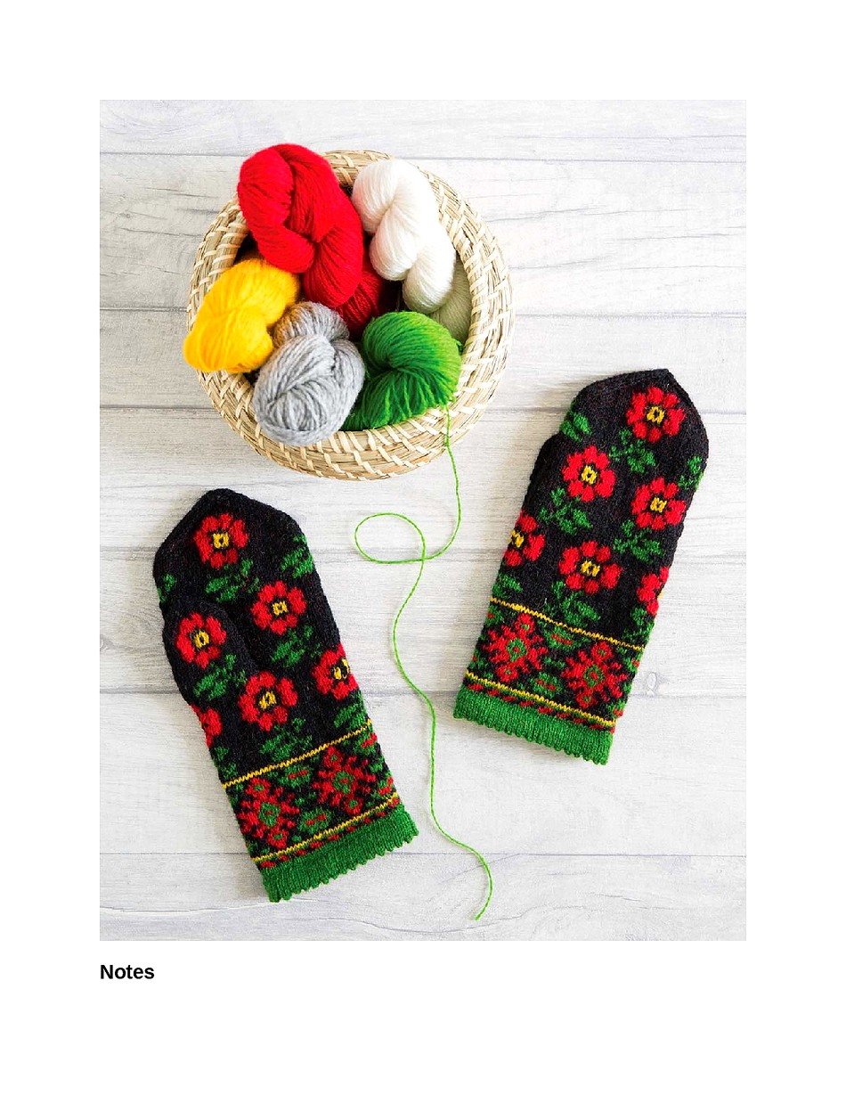 Knit Like a Latvian 50 Knitting Patterns for a Fresh Take on Traditional Latvian Mittens-199