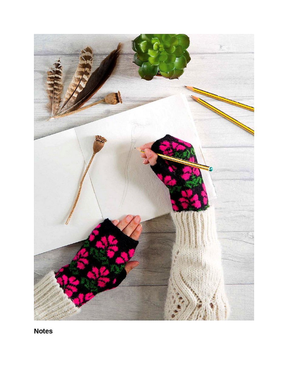 Knit Like a Latvian 50 Knitting Patterns for a Fresh Take on Traditional Latvian Mittens-173