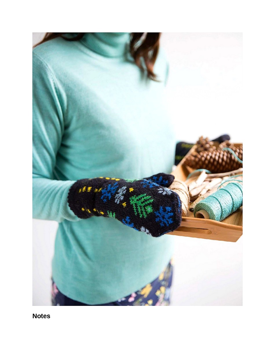 Knit Like a Latvian 50 Knitting Patterns for a Fresh Take on Traditional Latvian Mittens-153