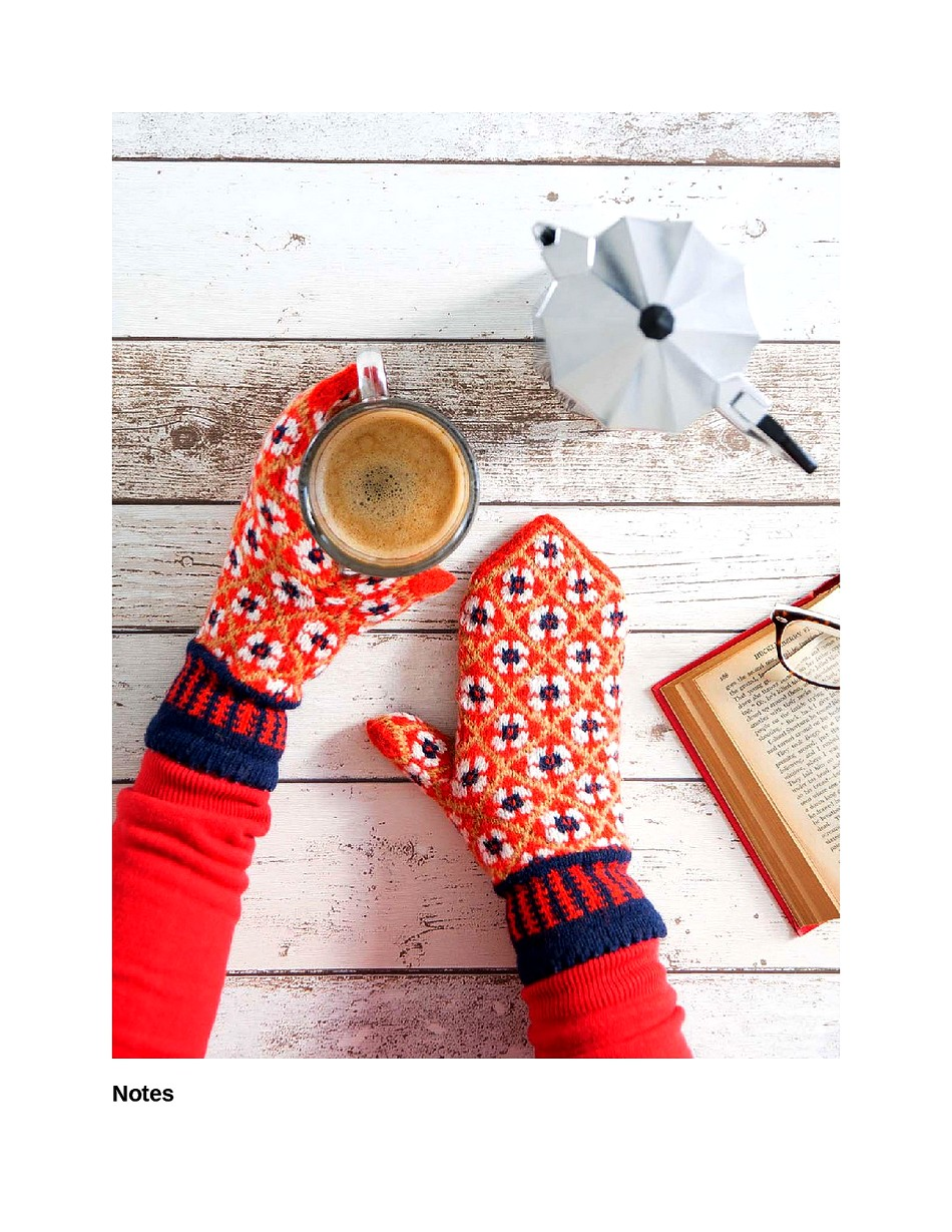 Knit Like a Latvian 50 Knitting Patterns for a Fresh Take on Traditional Latvian Mittens-124