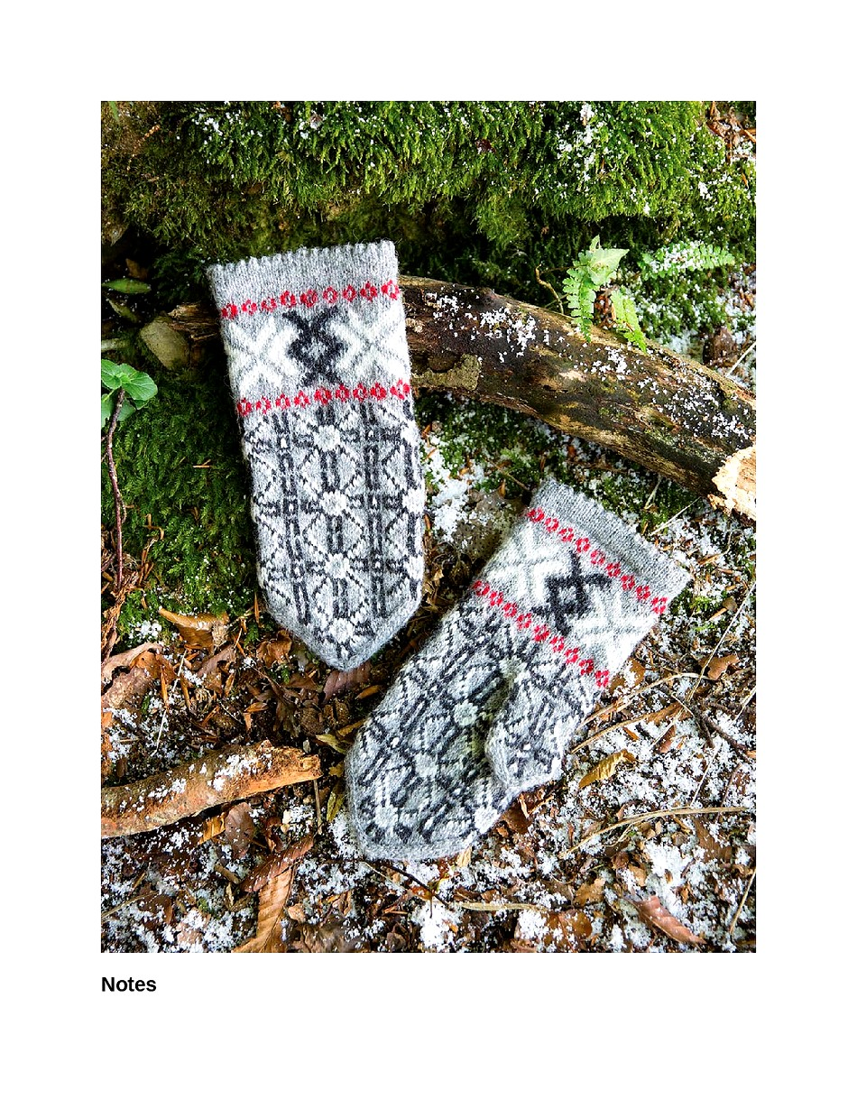 Knit Like a Latvian 50 Knitting Patterns for a Fresh Take on Traditional Latvian Mittens-053