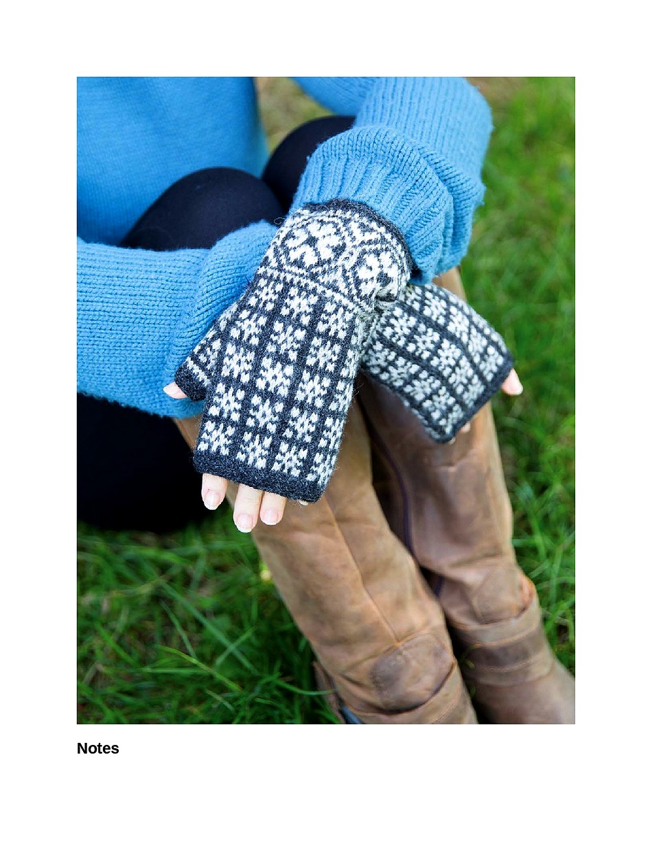Knit Like a Latvian 50 Knitting Patterns for a Fresh Take on Traditional Latvian Mittens-076