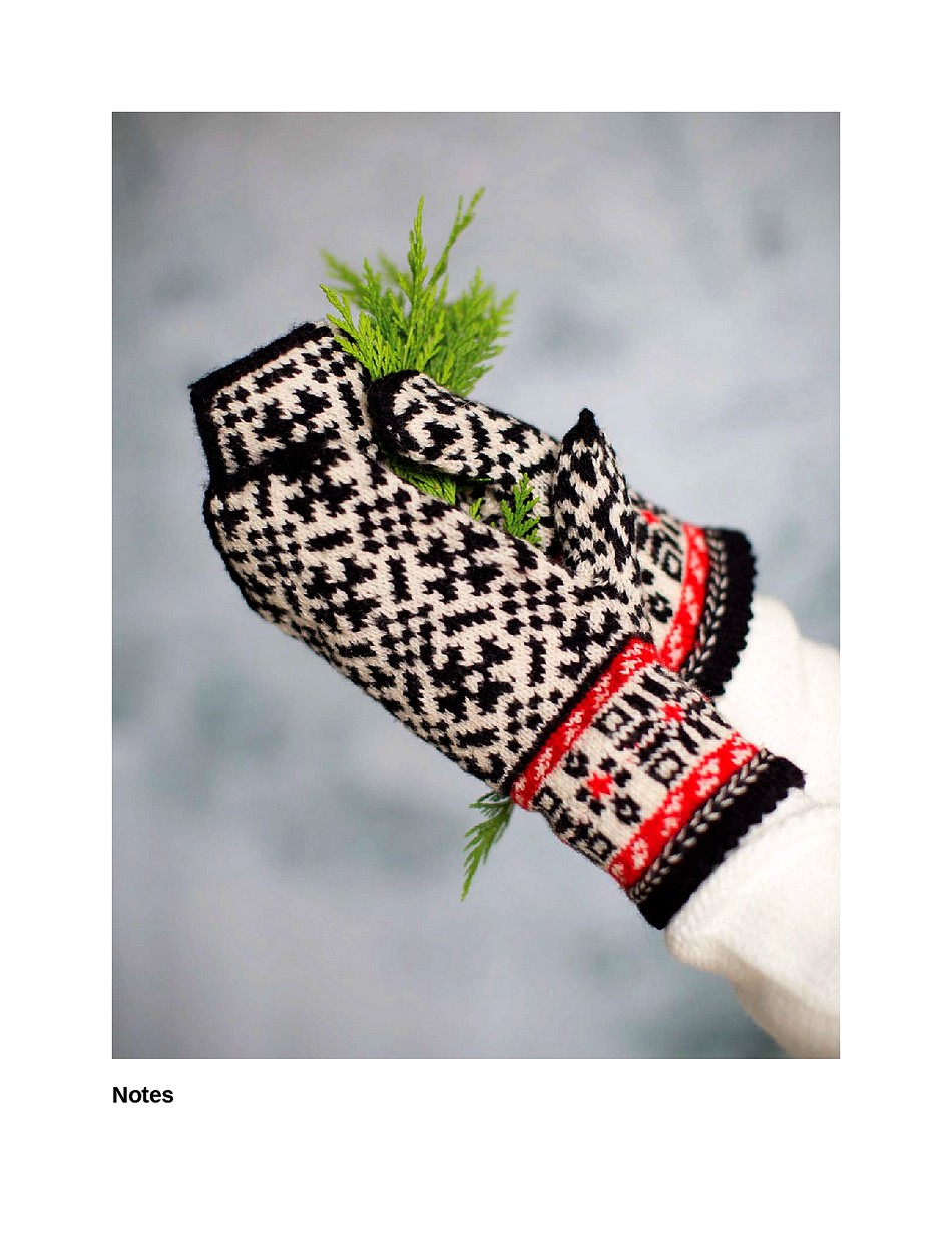 Knit Like a Latvian 50 Knitting Patterns for a Fresh Take on Traditional Latvian Mittens-045