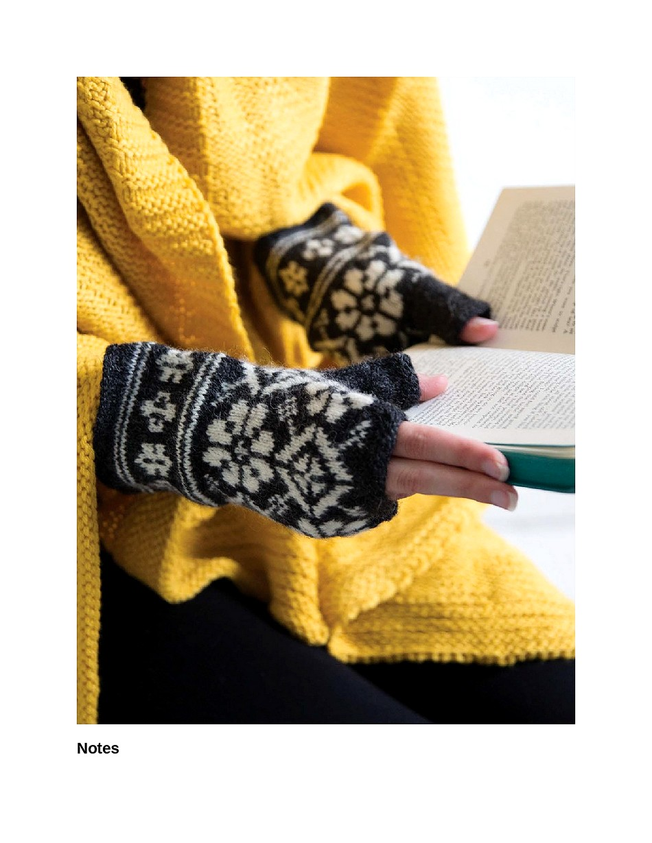 Knit Like a Latvian 50 Knitting Patterns for a Fresh Take on Traditional Latvian Mittens-027