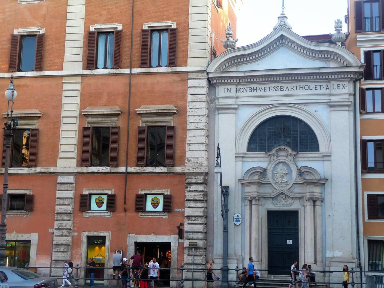 Santi Bartolomeo ed Alessandro dei Bergamaschi