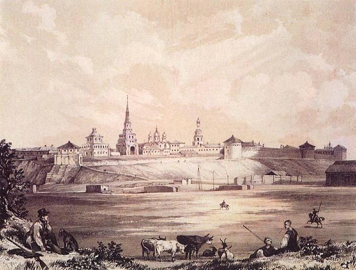 Э. Турнерелли. Казанская крепость