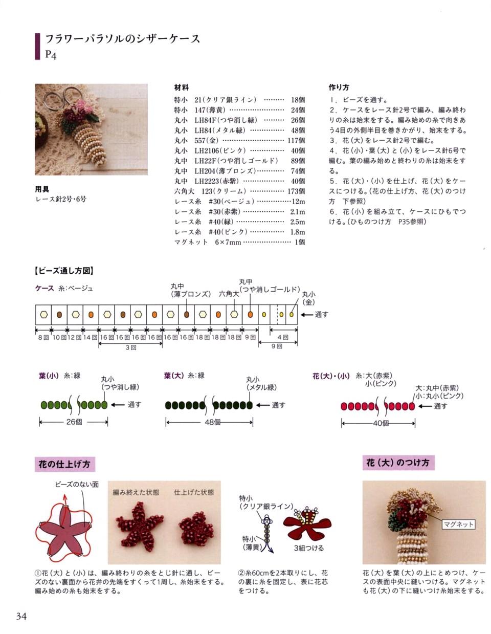 717 Beads Crochet 17-35