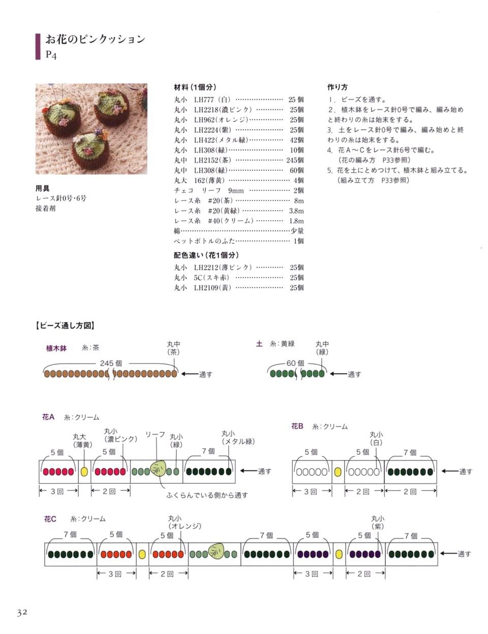 717 Beads Crochet 17-33