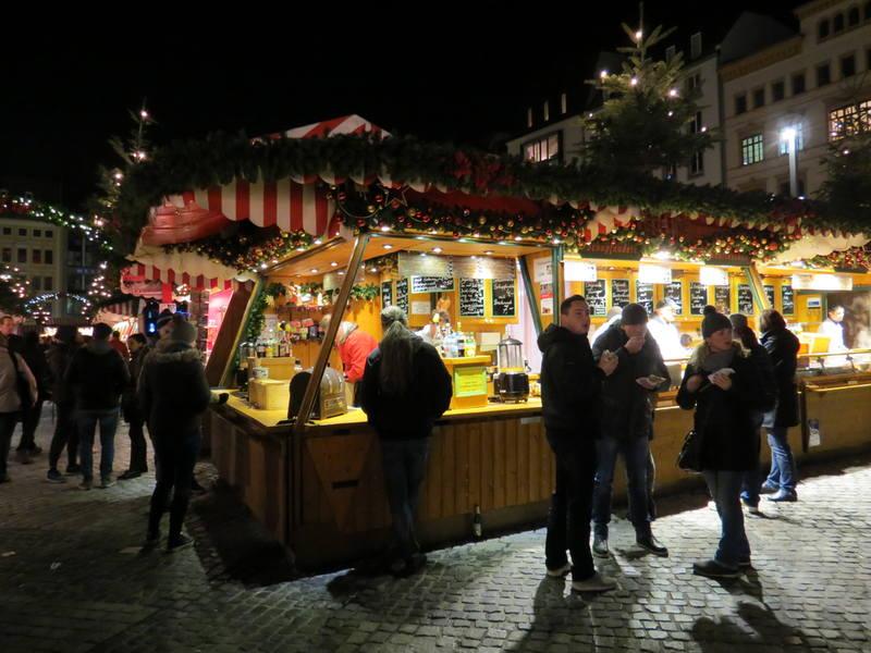 Рождественская ярмарка Лейпциг