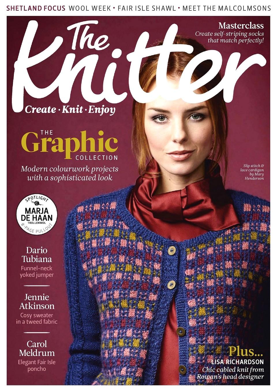 Журнал по вязанию The Knitter №132 2019