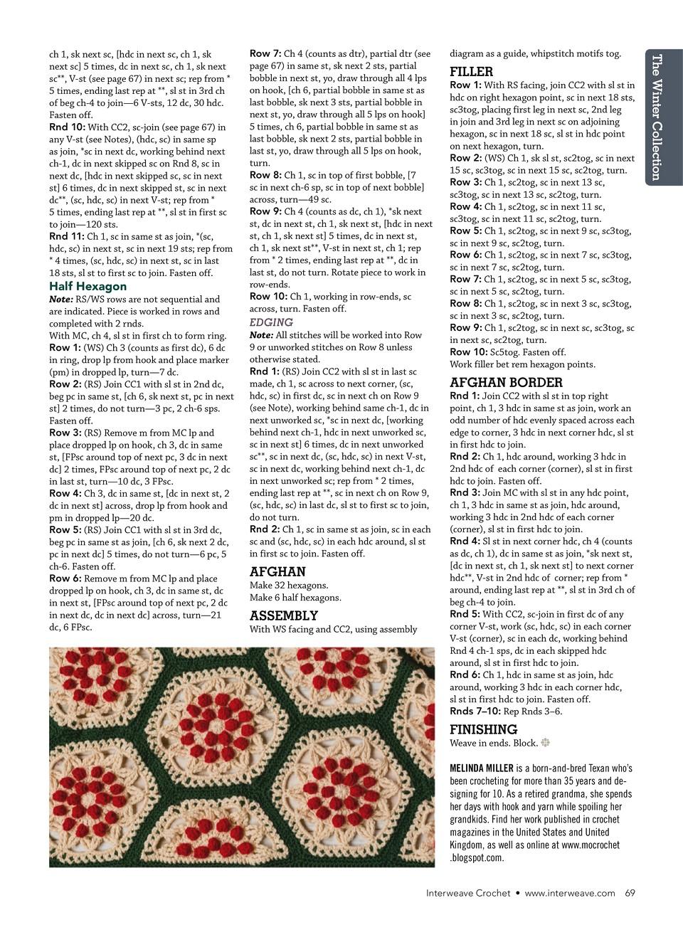 Interweave Crochet Winter 2019-70
