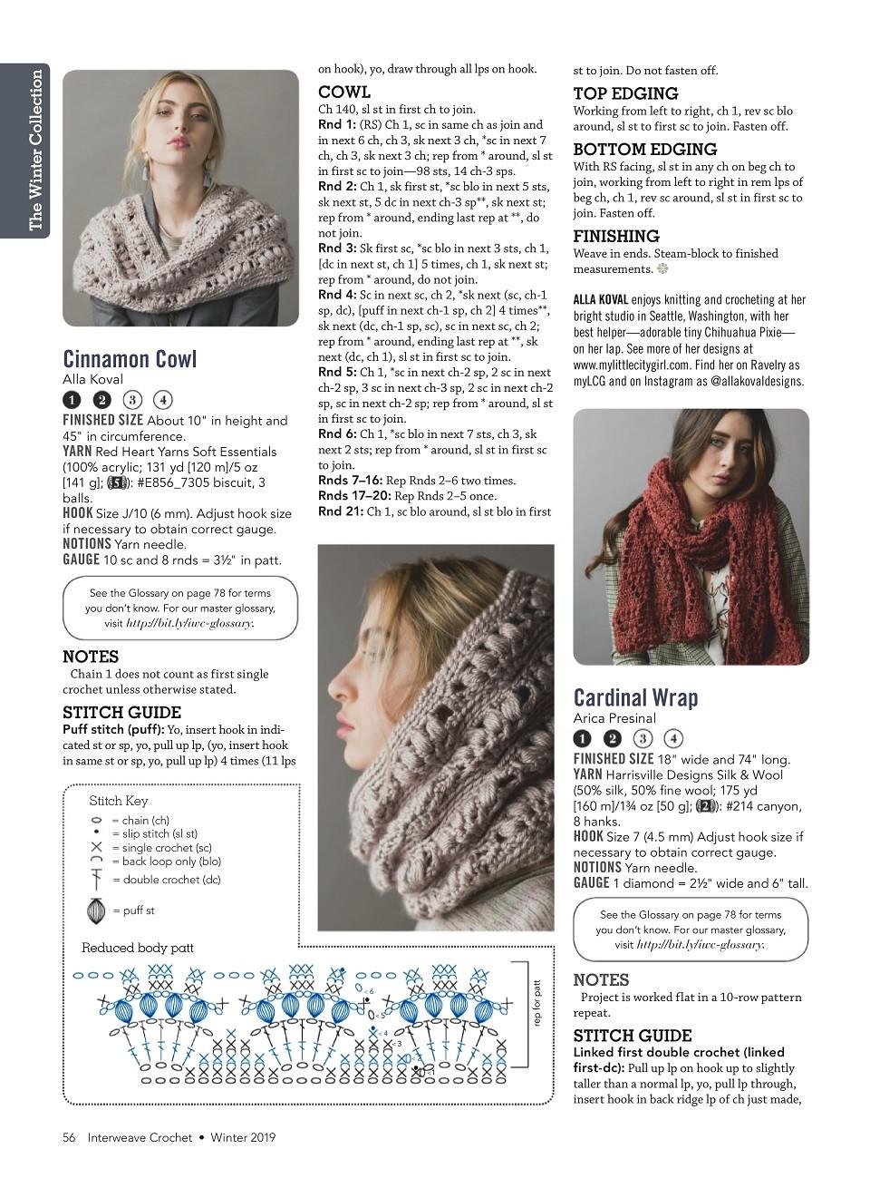 Interweave Crochet Winter 2019-57