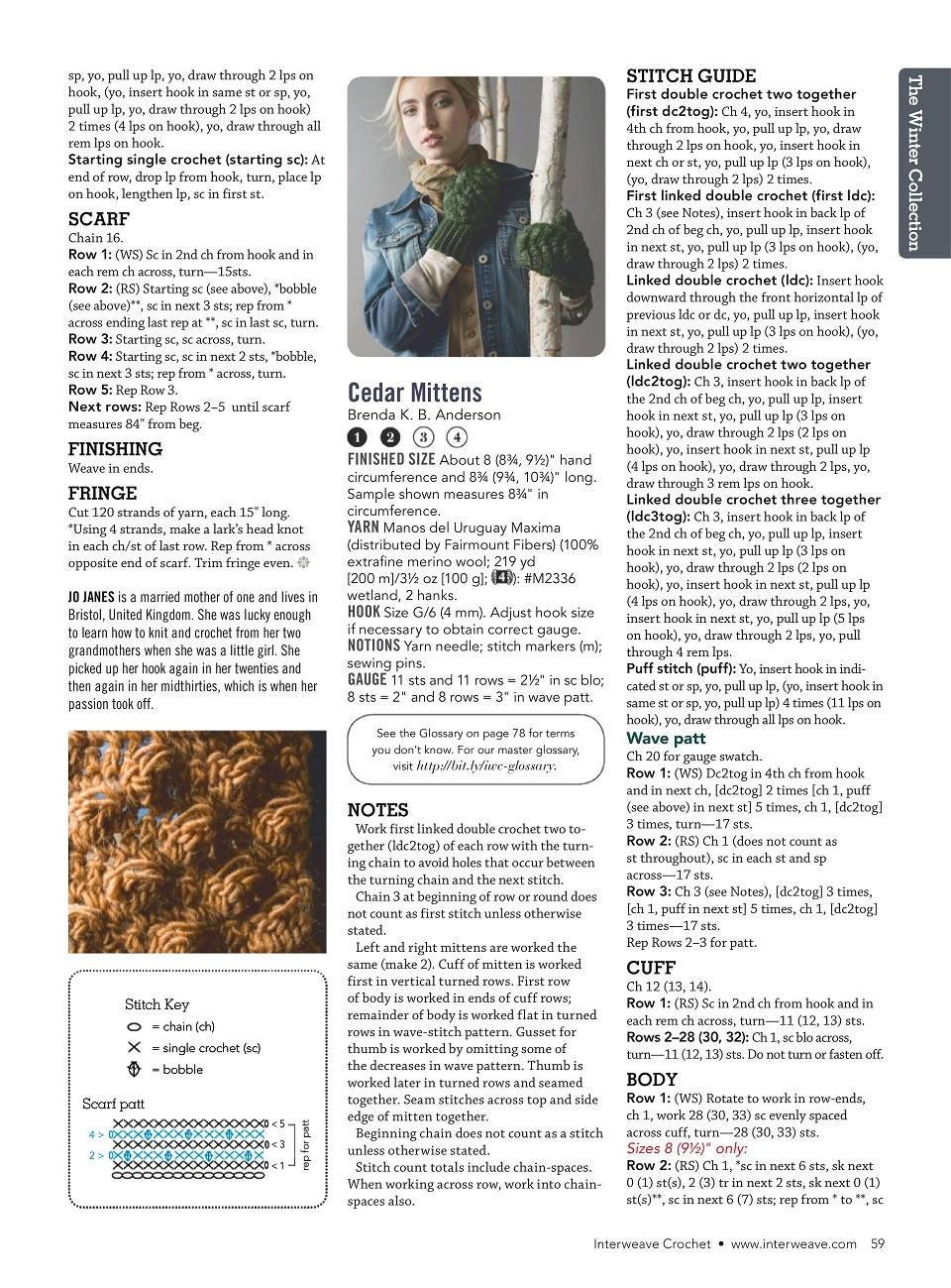Interweave Crochet Winter 2019-60