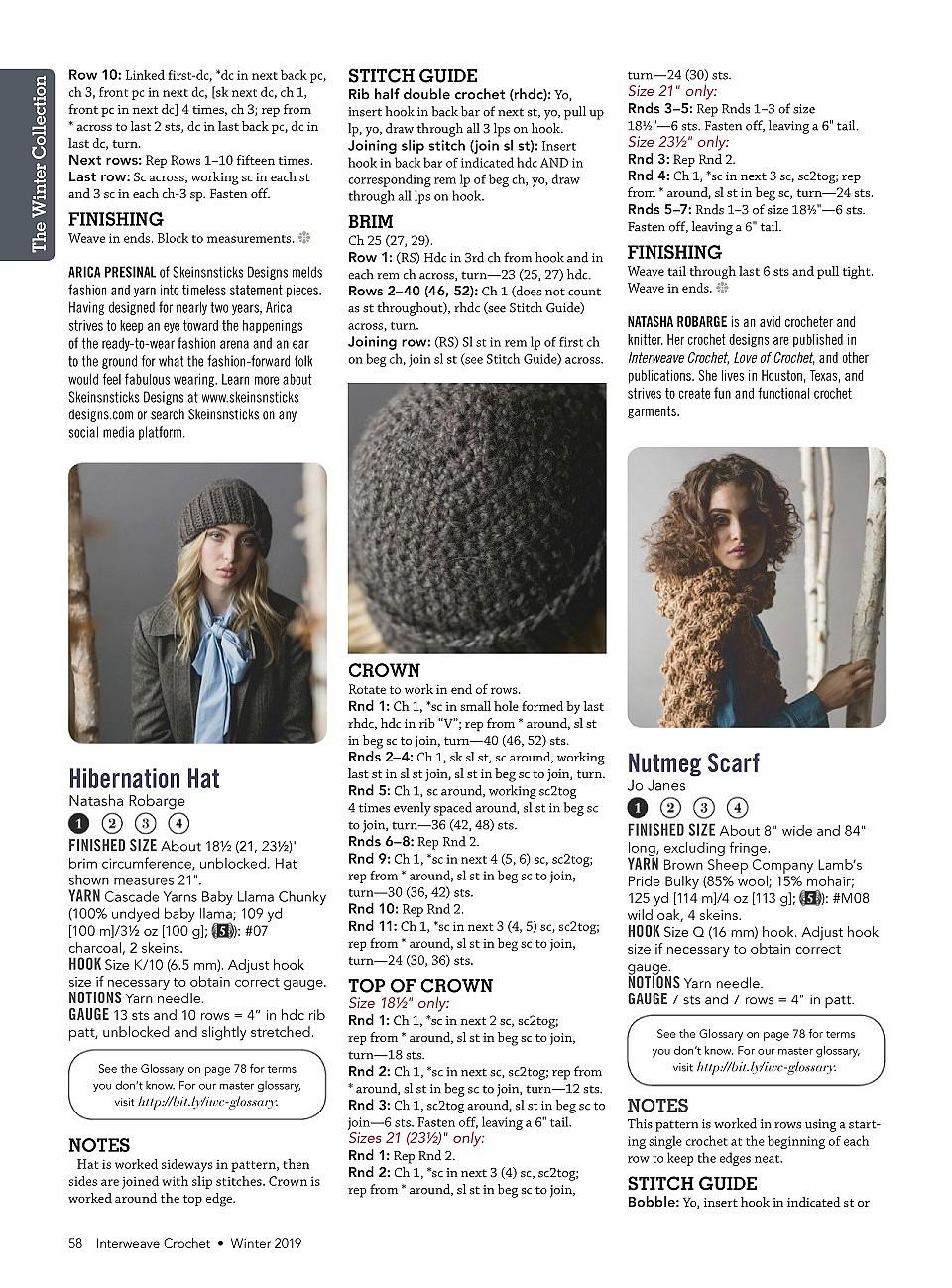 Interweave Crochet Winter 2019-59