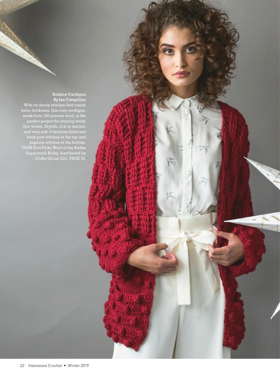 Interweave Crochet Winter 2019-23