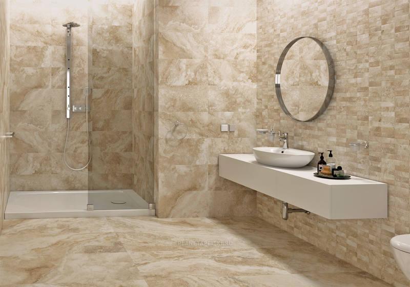 Напольные покрытия для ванной
