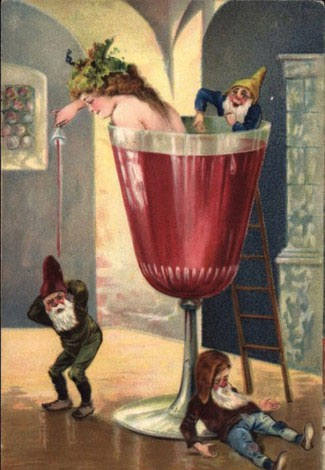strange and unusual christmas cards from the past century 1