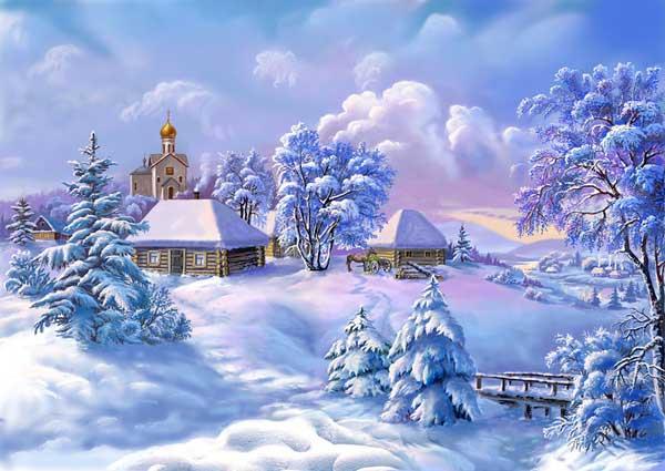 Просинец – Зимы государь