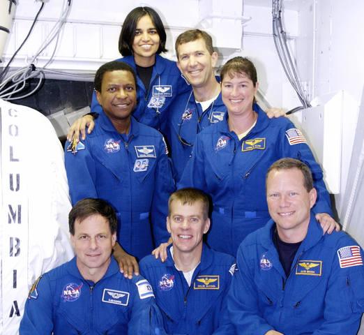 STS-107 Crew portrait